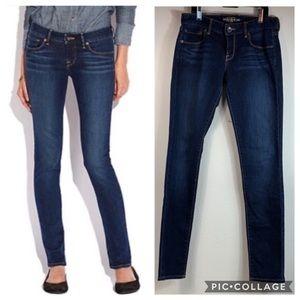 Lucky Brand Lolita skinny stretch denim dark jeans